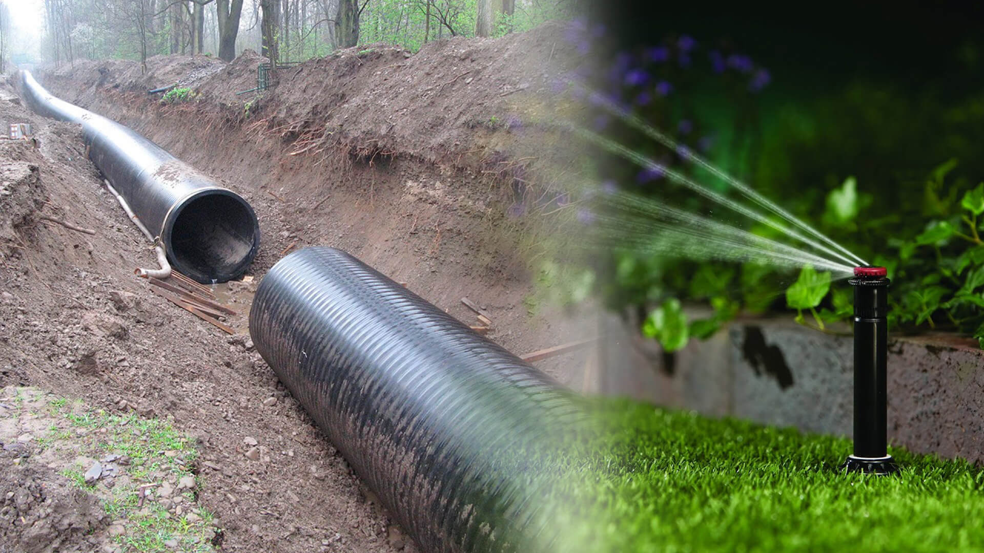 Drainage Systems & Sprinkler Services-Carrollton TX Professional Landscapers & Outdoor Living Designs-We offer Landscape Design, Outdoor Patios & Pergolas, Outdoor Living Spaces, Stonescapes, Residential & Commercial Landscaping, Irrigation Installation & Repairs, Drainage Systems, Landscape Lighting, Outdoor Living Spaces, Tree Service, Lawn Service, and more.