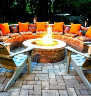 Outdoor Fire Pits-Carrollton TX Professional Landscapers & Outdoor Living Designs-We offer Landscape Design, Outdoor Patios & Pergolas, Outdoor Living Spaces, Stonescapes, Residential & Commercial Landscaping, Irrigation Installation & Repairs, Drainage Systems, Landscape Lighting, Outdoor Living Spaces, Tree Service, Lawn Service, and more.